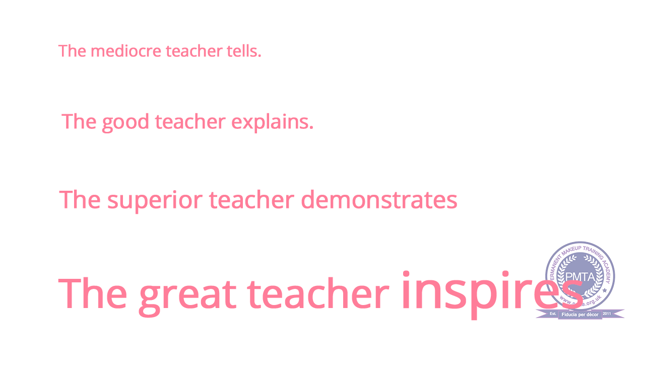 The Great Teacher Inspires text