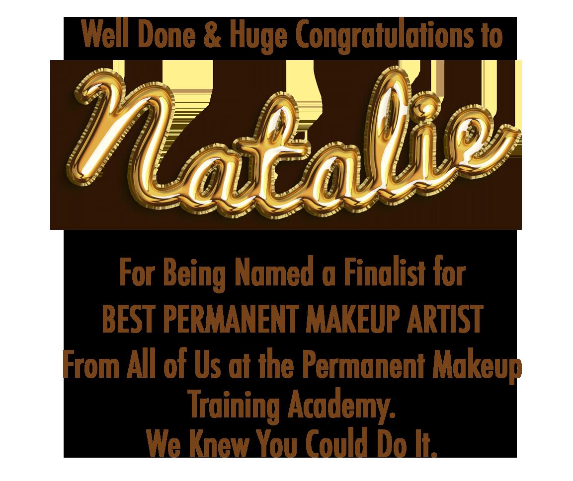 Natalie Award Banner