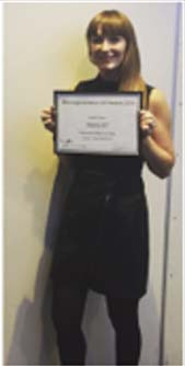 Natalie Award Presentation Pic3