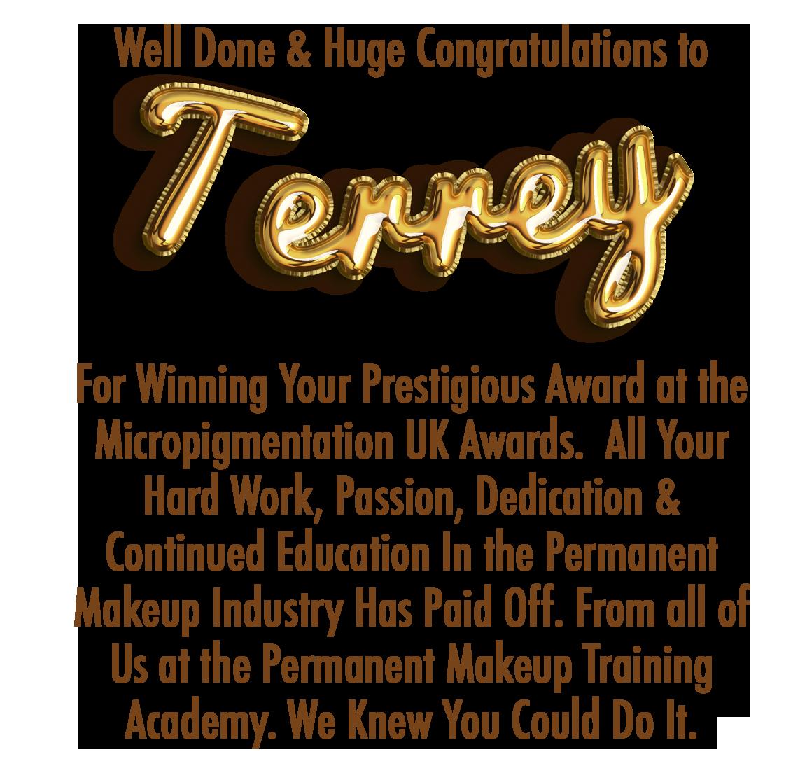 Terrey Award Banner